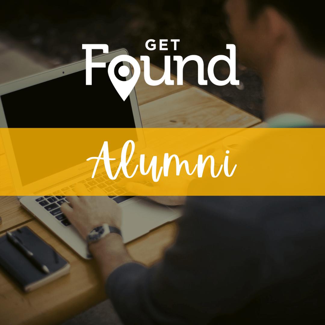 Get Found Alumni Plus+